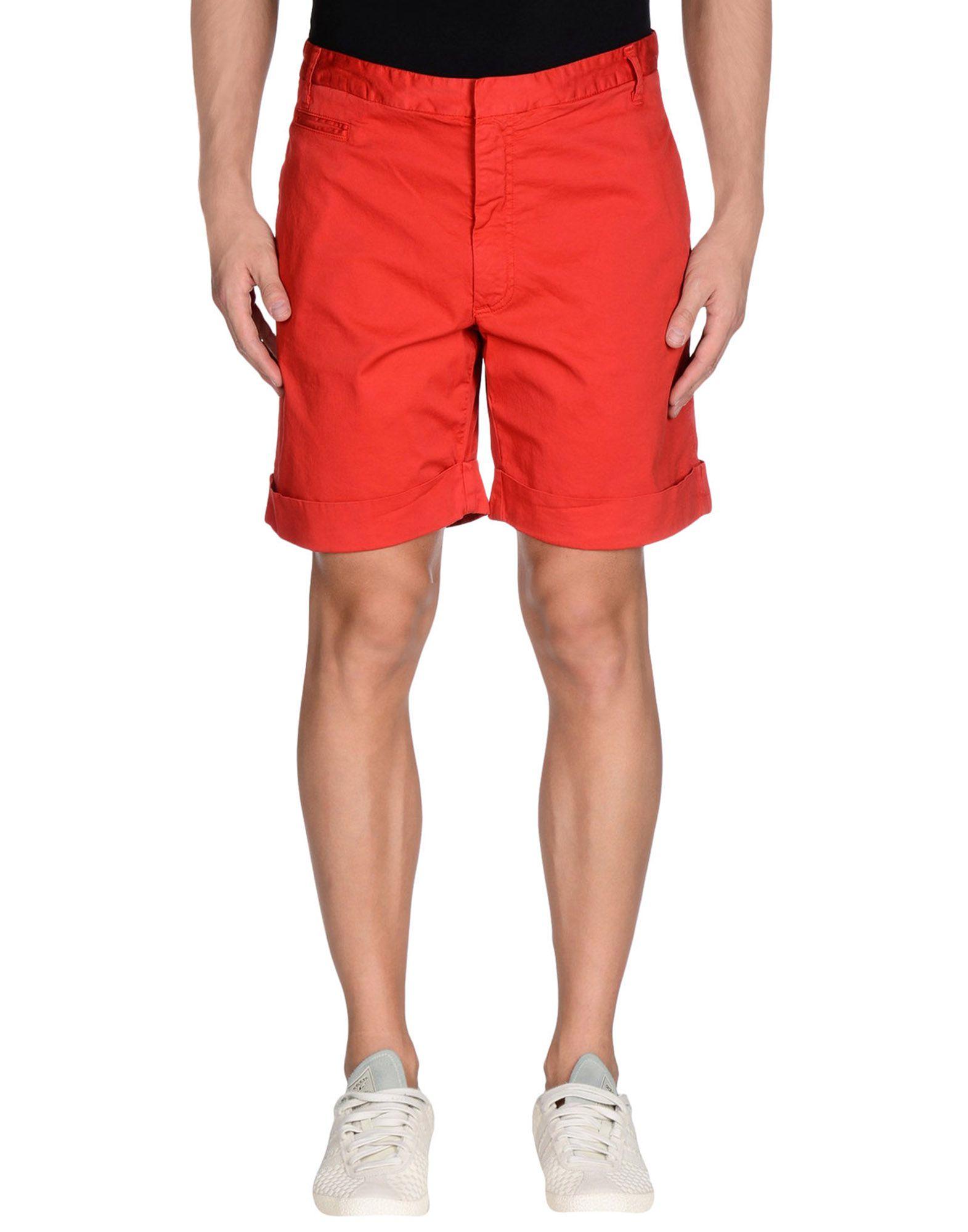FRED PERRY Herren Bermudashorts Farbe Rot Größe 6