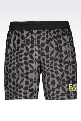 Armani Shorts Men ventus7 line shorts in technical fabric