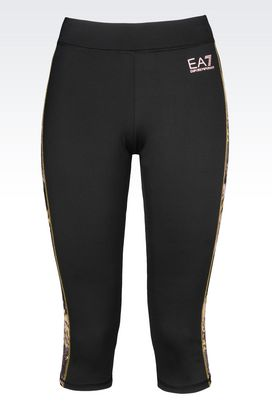 Armani Leggings Women ventus7 line leggings in technical fabric