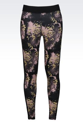 Armani Leggings Donna leggings in tessuto tecnico vigor7 line