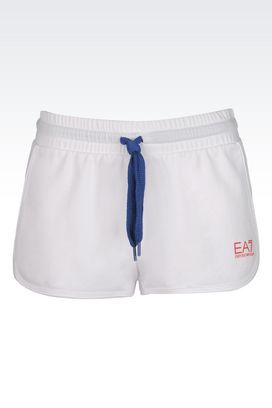 Armani Shorts Donna shorts in misto cotone