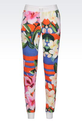 Armani Pantaloni Donna pantalone in felpa