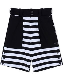 Y-3 MULTISTRIPE SHORT