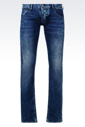Armani Jeans Für Ihn slim fit-jeans mit dunkler waschung