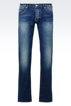 Armani Jeans Men slim fit medium wash jeans