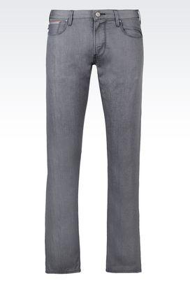 Armani Jeans Men slim fit rinse wash jeans