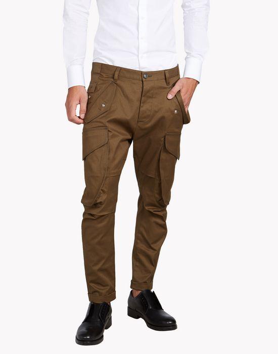 rainbow cargo pants pants Man Dsquared2