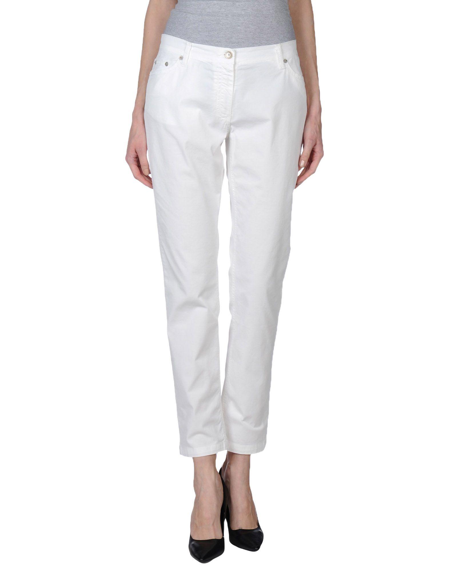 FRED PERRY Damen Hose Farbe Weiß Größe 7