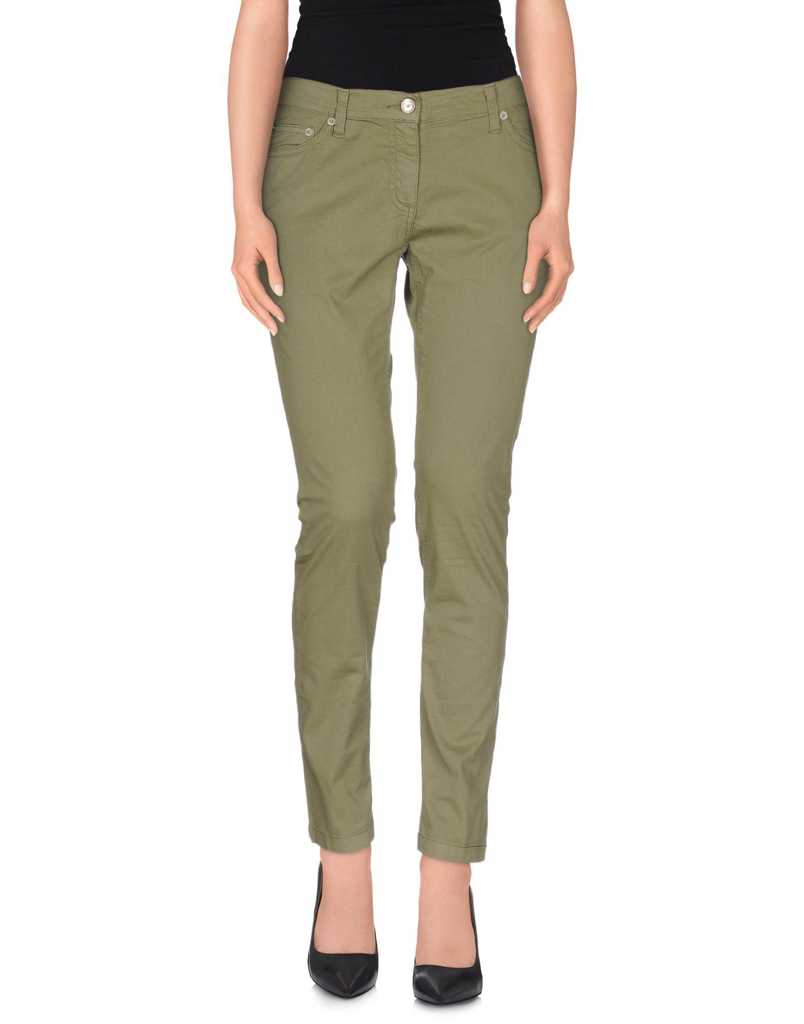 FRED PERRY Damen Hose Farbe Militärgrün Größe 3