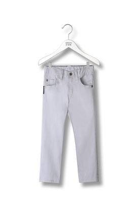 Armani Pants Men 5-pocket trousers in stretch cotton