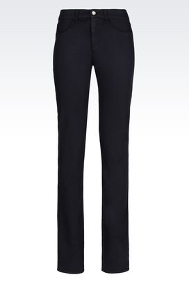 Armani 5 pockets Women slim fit 5-pocket in modal blend