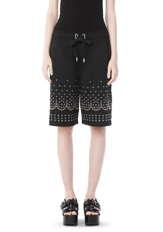 ALEXANDER WANG SHORTS Women LOW WAISTED BOARDSHORTS