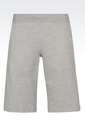 Armani Bermudas Men visibility line cotton shorts