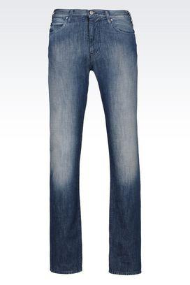 Armani Jeans Für Ihn slim fit-jeans mit mittelblauer waschung