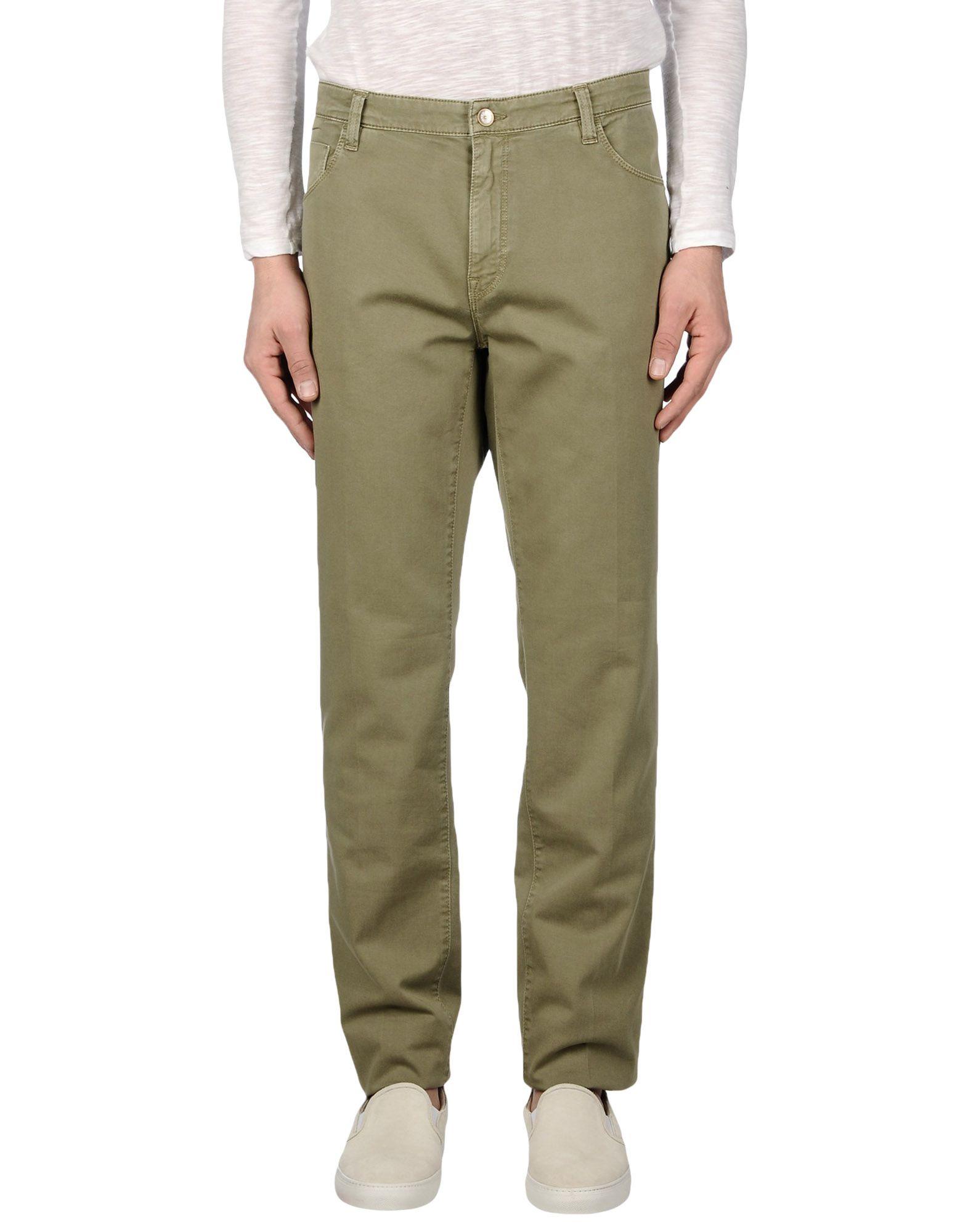 FRED PERRY Herren Hose Farbe Militärgrün Größe 14
