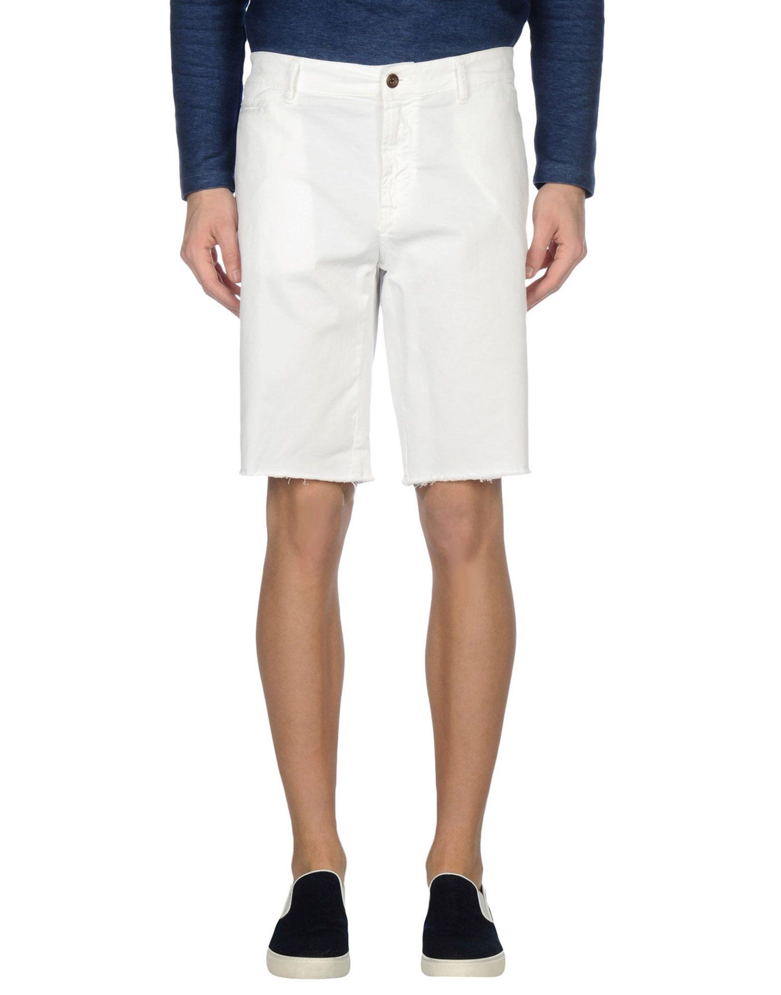 FRED PERRY Herren Bermudashorts Farbe Weiß Größe 12