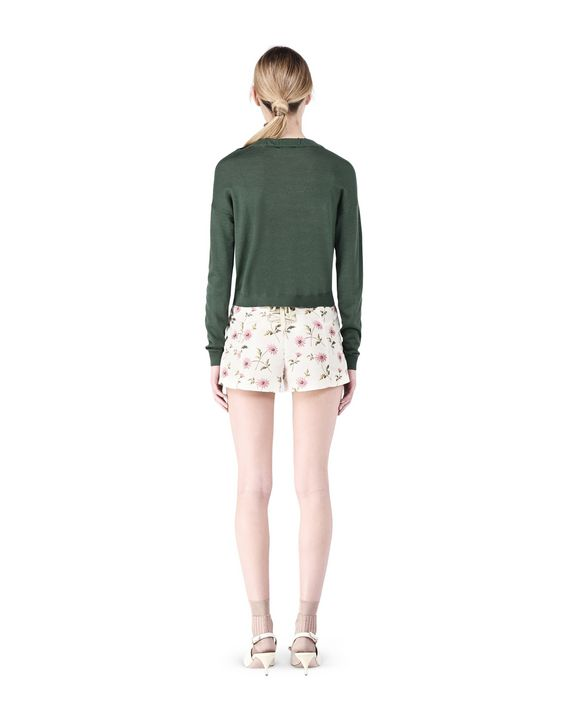 REDValentino KR0RF0D0295 A03 Shorts Woman r