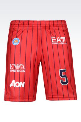 Armani Shorts Men olimpia milano n.5 match shorts