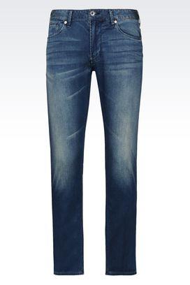 Armani Jeans 5 Tasche Uomo jeans slim fit medium wash