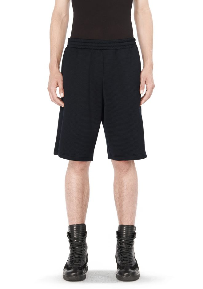 T by ALEXANDER WANG t-by-alexander-wang-sale QUILTED JACQUARD BASKETBALL SHORTS