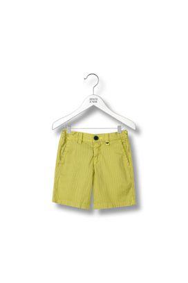 Armani Bermuda shorts Men bermuda shorts in striped cotton