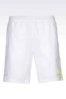 Armani Shorts Men ventus7 line shorts in technical fabric
