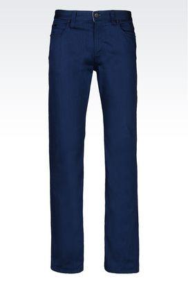 Armani Jeans Men regular fit dark wash jeans