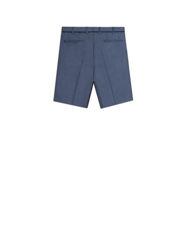 Shorts with contrast edging