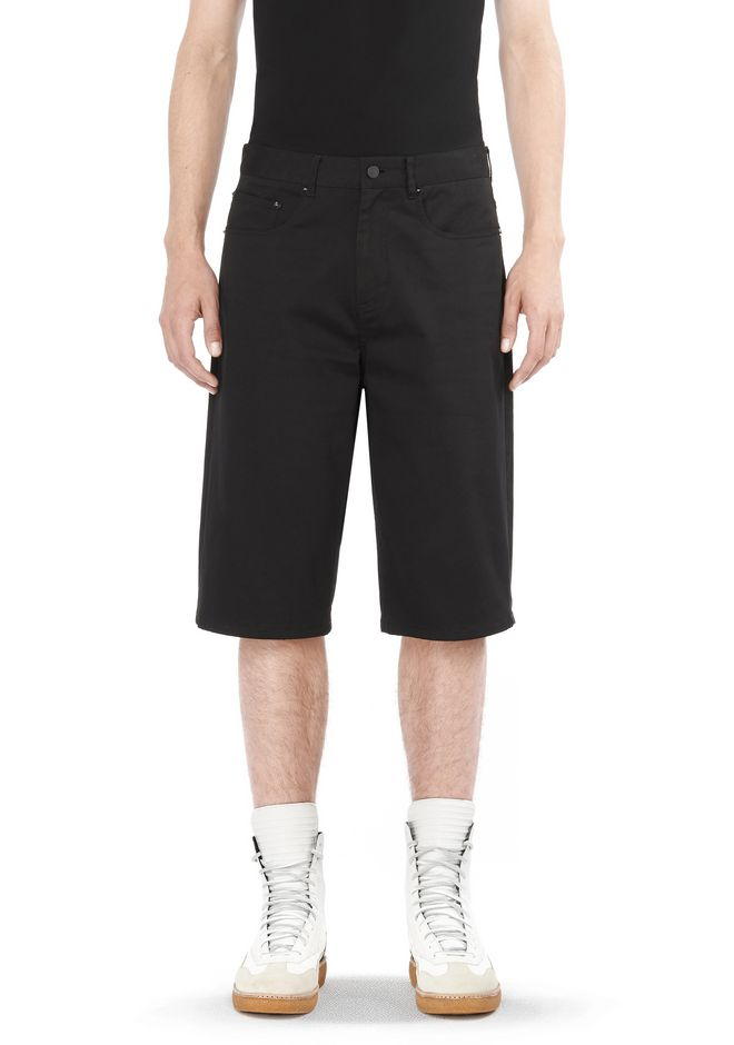 ALEXANDER WANG PANTS FIVE POCKET SKATE SHORTS