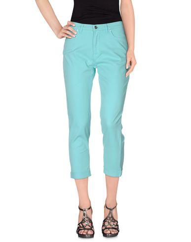 Джинсовые брюки-капри TRUSSARDI JEANS 36824655CS