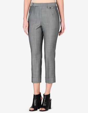 Maison Margiela Cropped virgin wool trousers