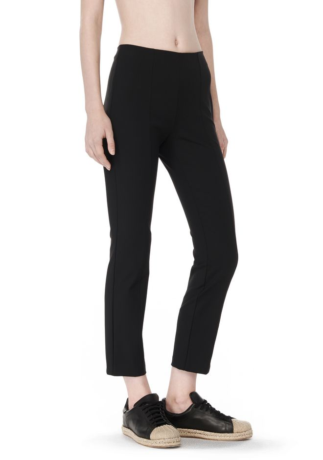 T by ALEXANDER WANG PANTS Women TECH SUITING FITTED PANTS