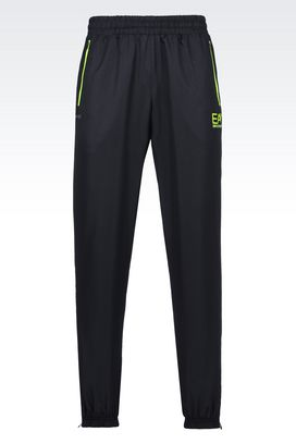 Armani Pants Men ventus7 line trousers in technical fabric