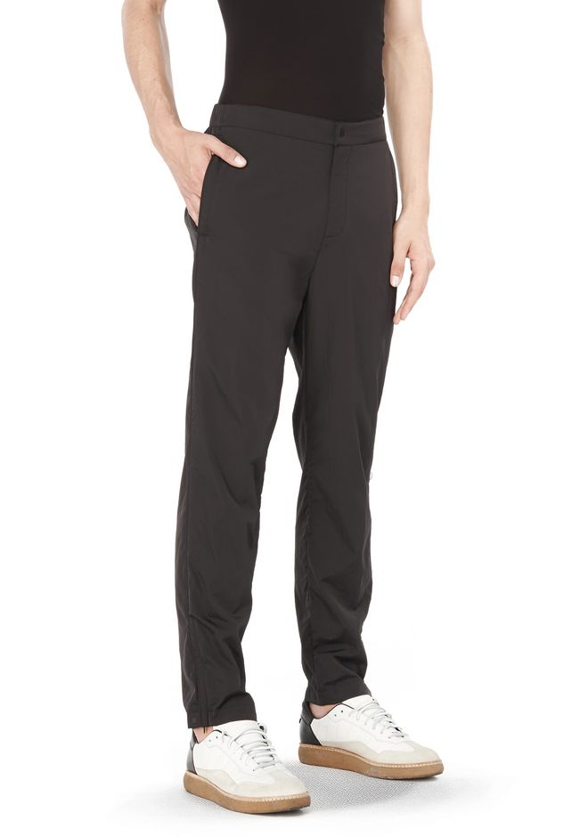 T by ALEXANDER WANG PANTS NYLON PIPED PANTS
