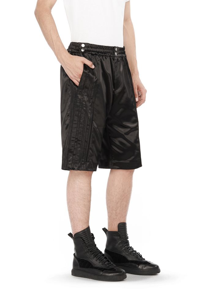 ALEXANDER WANG SHORTS TUXEDO TEAR-AWAY SHORTS
