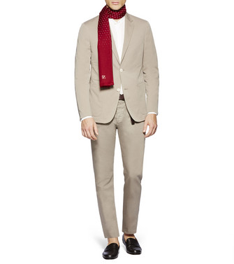 ERMENEGILDO ZEGNA: Formal Trousers Light grey - 36830769LM