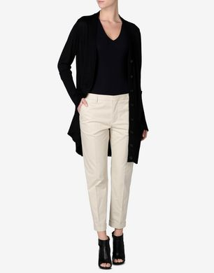 Maison Margiela Cropped slim fit trousers