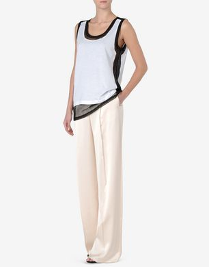 Maison Margiela Oversized satin trousers