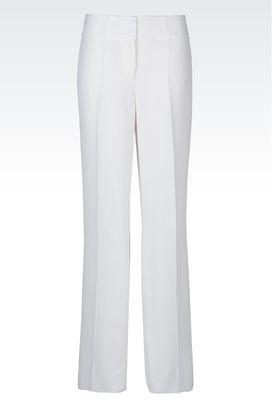 Armani trousers Women jacquard trousers