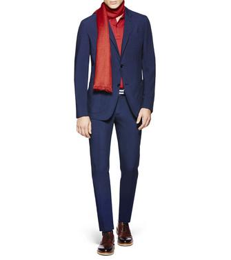 ERMENEGILDO ZEGNA: Pantalon Casual Bleu - 36836630VA