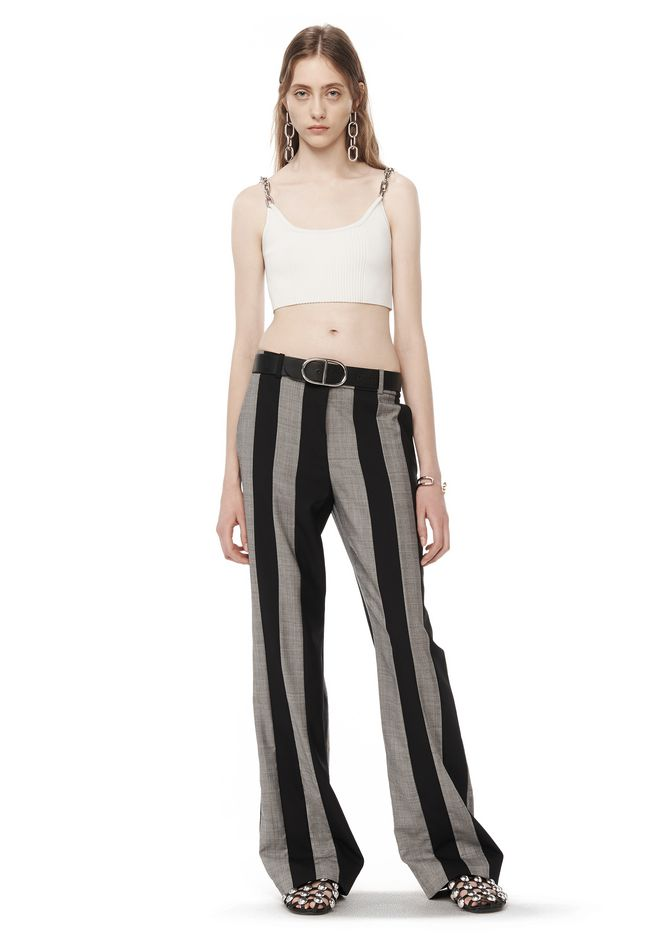 RUNWAY TAILORED STRIPED PANTS