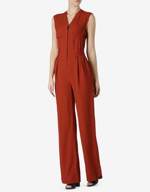 Maison Margiela Jumpsuit with lingerie-inspired details