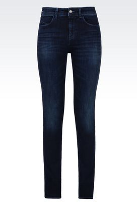 Armani Jeans Women slim fit dark wash jeans