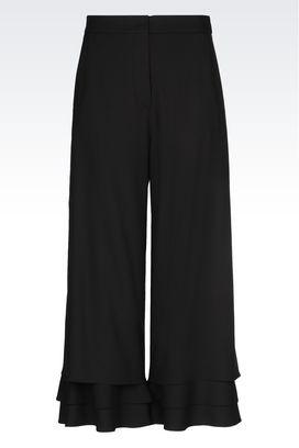 Armani trousers Women trousers in technical fabric