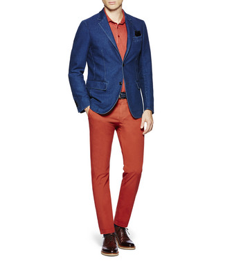 ERMENEGILDO ZEGNA: Formal Trousers Blue - 36843335FV