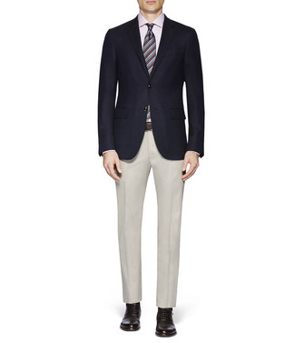 ERMENEGILDO ZEGNA: Dress Pants Blue - 36843338XA