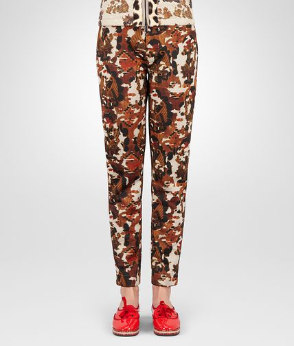 PULL-ON TROUSERS IN DRIFT MULTICOLOUR PRINTED TECHNICAL FLEECE