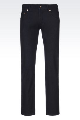 Armani 5 Pocket Trousers Men limited edition slim fit jeans