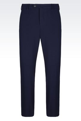 Armani trousers Men seersucker trousers