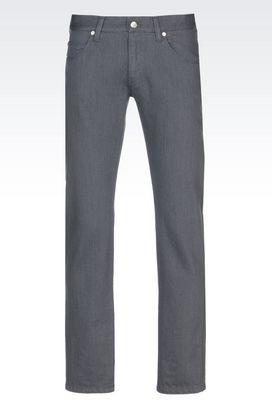 Armani 5 Pocket Trousers Men 5 pocket trousers